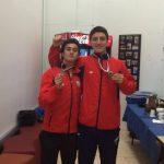 Matias Lacroix y Felipe Quezada ganan medalla de bronce en el Panamericano Junior de Squash