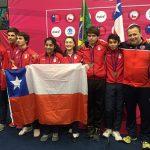 La posta por equipos entregó un nuevo oro para Chile en el Sudamericano Menores de Esgrima