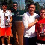 Matías Soto y Fernanda Labraña ganaron el 1° Open Junior ATV 2016