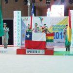 Agustina Gutiérrez gana medalla de oro en el Sudamericano de Gimnasia Rítmica