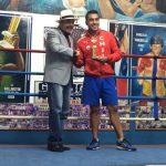 Miguel Ángel Véliz ganó medalla de oro en la Copa Pacífico de Boxeo