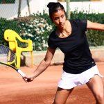 Ivania Martinich cayó en la primera ronda del ITF de Hammamet