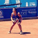 Bárbara Gatica cayó en cuartos de final de dobles del ITF de Curitiba