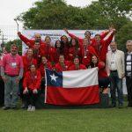 Chile logró el cuarto lugar en el Mundial Femenino de Faustball