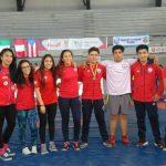Sebastián Ortega ganó medalla de bronce en el Sudamericano Escolar de Lucha Olímpica