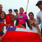 Team Chile inicia su participación en el Panamericano de Surf