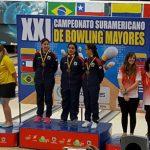 Chile suma dos medallas en el Sudamericano de Bowling