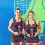Fernanda Brito se quedó con el título de dobles del ITF de Pereira