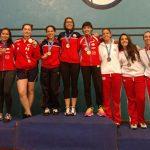 Dos nuevas medallas sumó Chile en el Nacional Brasileño de Esgrima
