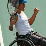 Macarena Cabrillana avanzó a la final de dobles del US Open Wheelchair