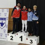 Tres medallas consiguieron los sablistas nacionales en Buenos Aires