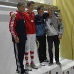Joaquín Bustos ganó medalla de oro en torneo argentino de esgrima