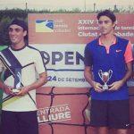 Cristóbal Saavedra se tituló campeón de dobles del Futuro 32 España