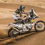 Pablo Quintanilla subió al cuarto lugar de la tabla general del Rally de Marruecos