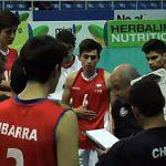 Chile cayó ante Colombia en el Sudamericano Sub 19 de Volleyball Masculino