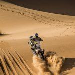 Pablo Quintanilla sube al tercer lugar de la general en el Rally de Marruecos