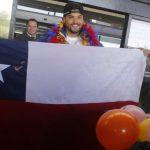 Pablo Quintanilla regresó a Chile tras titularse campeón mundial de rally cross country