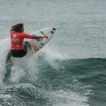 Lorena Fica fue la mejor nacional en la jornada sabatina del Mundial Femenino de Surf en Pichilemu