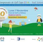 Golfistas nacionales son invitados a participar en torneo pro fondos para Hospital Roberto del Río