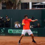 Christian Garin confirmó su participación en el Challenger de Segovia