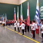 Este domingo comenzó el Mundial de Frontón 30 Metros de Pelota Vasca en Santiago