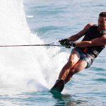 Team Chile se instala en las finales del esquí náutico en los Juegos Bolivarianos de Playa