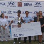 Hugo León gano el Abierto de Golf Los Leones