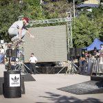 Más de 1500 asistentes disfrutaron del Away Days Tour de skate