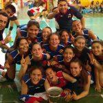 Selección Menor Femenina ganó la Copa de Plata en torneo internacional U15 de volleyball