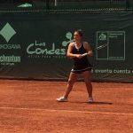 Fernanda Brito obtuvo el vicecampeonato de dobles de la Copa Las Condes
