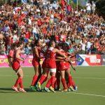 """""""Diablitas"""" derrotan a Sudafrica en el Mundial Junior Femenino de Hockey Césped"""