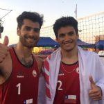 Primos Grimalt ganan medalla de oro en los Juegos Bolivarianos de Playa