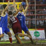 Chile debutó en el Balonmano por los Juegos Bolivarianos de Playa 2016