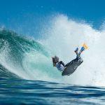 Matías Díaz fue una de las figuras en primera jornada del surf de Iquique 2016