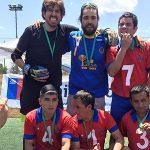 La Máquina ganó la primera Liga Nacional de Fútbol 5
