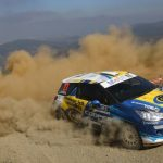 Cristóbal Vidaurre ganó la categoría R3 en primera jornada del GP de Concepción del Rally Mobil