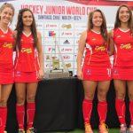 """Las """"Diablitas"""" se aprestan para su debut en el Mundial Junior Femenino de Hockey Césped"""