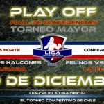 Liga Chilena de Football Americano define a sus campeones de conferencia