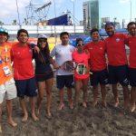 Tenis Playa obtiene una plata y dos bronces en los Juegos Iquique 2016
