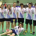 Chile gana medalla de bronce por equipos en el Sudamericano de Badminton