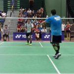 Alonso Medel gana medalla de plata en la categoría Sub 17 del Sudamericano de Badminton