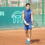 Laslo Urrutia cayó en primera ronda de singles y dobles del Futuro 5 Portugal
