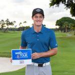 Guillermo Pereira obtuvo la tarjeta para el Web.com Tour 2017