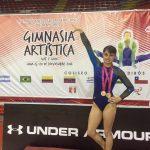 Melany Cabrera anunció su retiro de la gimnasia