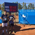 Tomás Barrios y Jorge Montero se titularon campeones de dobles del Futuro 5 Chile