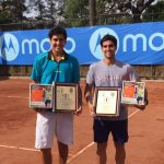 Alejandro Tabilo y Jorge Montero se quedaron con el título de dobles del Futuro Chile 6