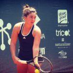Fernanda Brito se instaló en cuartos de final de dobles en Italia