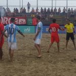 Chile debutó con goleada sobre Argentina en la Copa América de Fútbol Playa