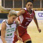 Ziomara Morrison realizó una buena presentación en triunfo de Wisla en la Euroliga