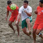 Chile cayó ajustadamente ante Bolivia en la Copa América de Fútbol Playa